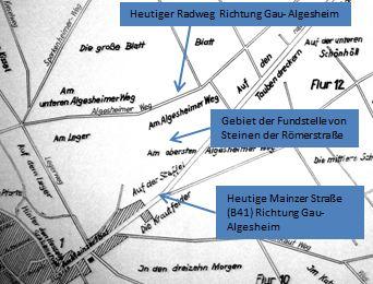 Fundstelle in Ockenheim Karte1