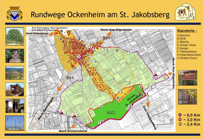 Ockenheimer Wanderwege